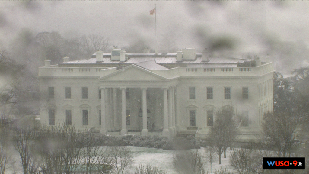 Snowing AGAIN In The DC-Baltimore Area, 2 Upper Midwest Snow Events This Week!