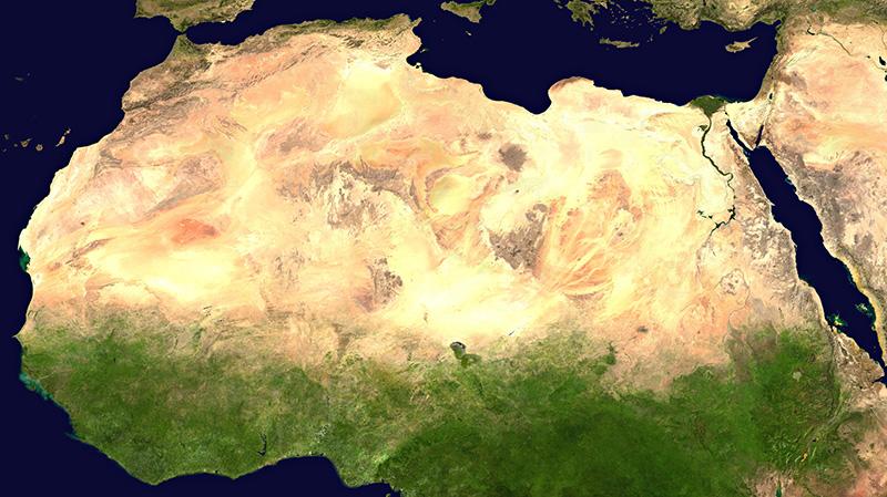 Africa, Arabia, Sub-Continental Asia Heat Up!