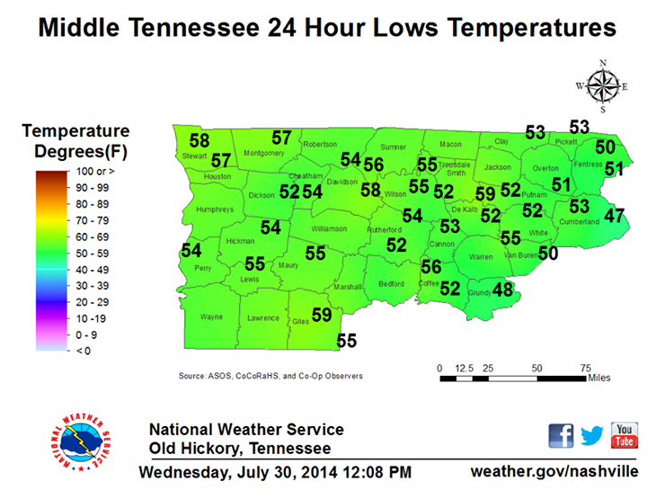 Courtesy/Credit: NWS Hickory, TN