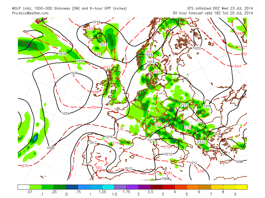 Glorious Mid-Summer Weather Persists Over UK But Slight Change Arrives Saturday!