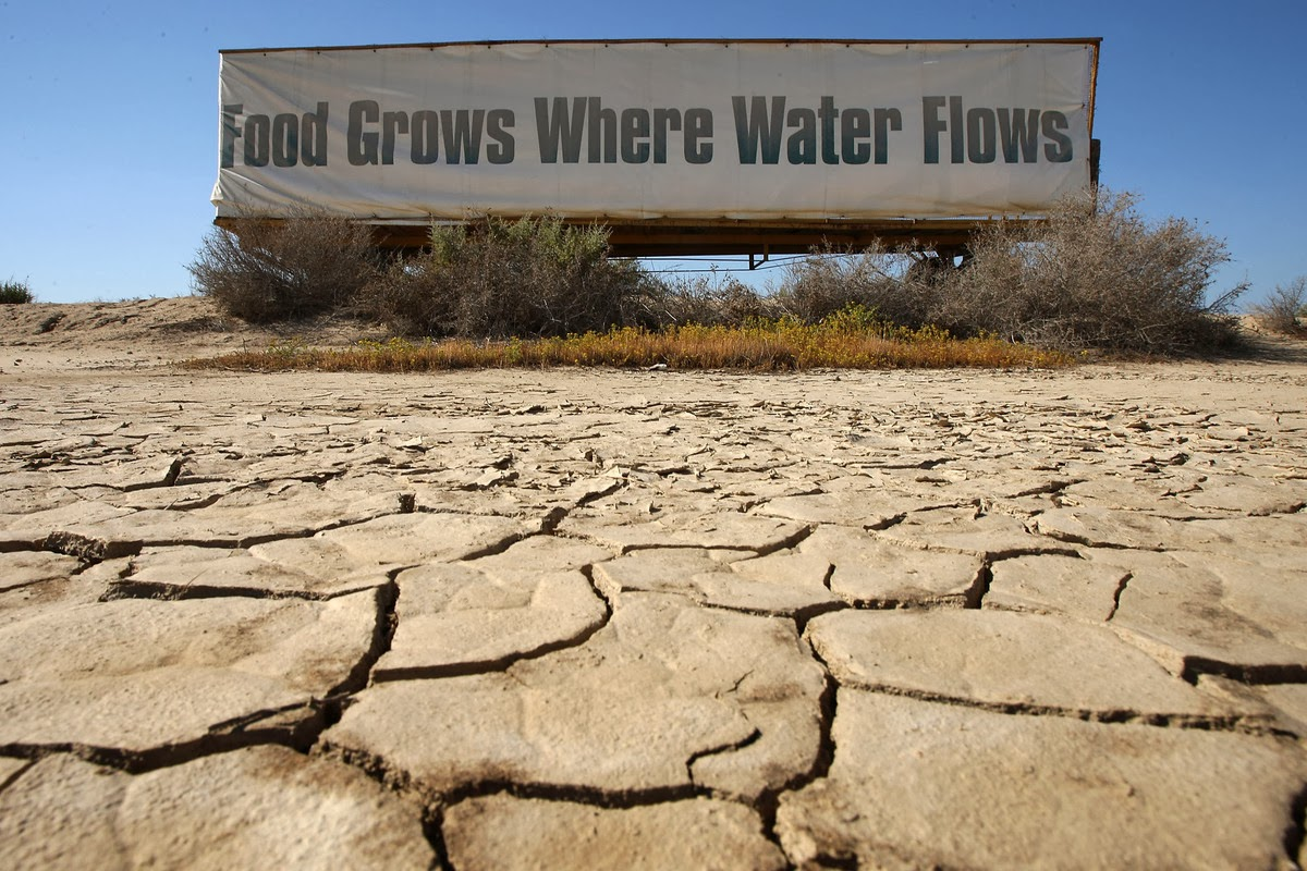 California Suffers Worst Drought In A Century But Relief Is Coming!!