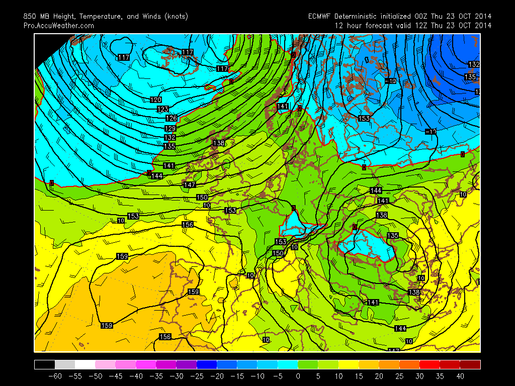 Fast And Furious Start To Winter For North, East Europe, Wet Times For UK
