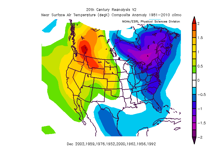 Memorable US Nov Cold Outbreak Heading For US Sets Tone By BIG Winter Ahead