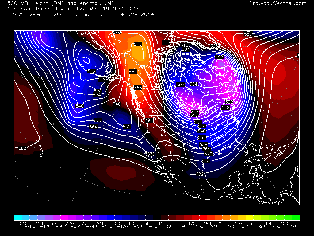 Extreme US Cold Pattern Shifts East Next Week But Warm-Up Is In Sight!