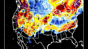 US PATTERN: Strong Strat Warming Above Reflects New Surge Of Cold Underneath For Late December
