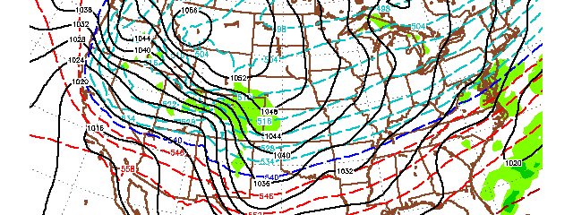 Near 1060mb Arctic High To Dive Into Lower 48 Next Week…