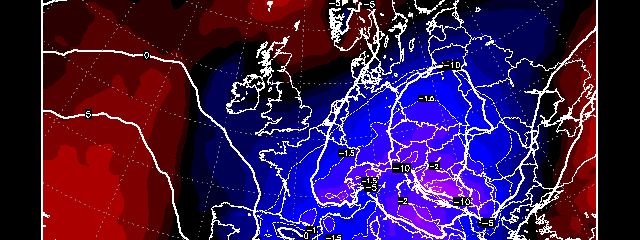 EUROPE: Next 7 Days Will Be Europe's Coldest Since 2012-13!