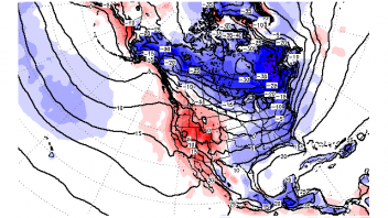 2-3 Chances At Laying Down Snow Cover In The Big Cities Ahead Of Major Arctic Cold…