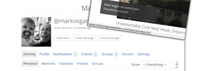 @MarkVoganWeather.com: We've gone social!