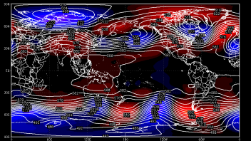 Atlantic-Europe Jet Stream Takes Wild, Wavy Detour Next 3-5 Days Before Flattening Out!
