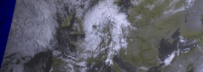 One Autumn-like Low Leaves Another Moves In, Worst July Storm Since 1901 For Netherlands!