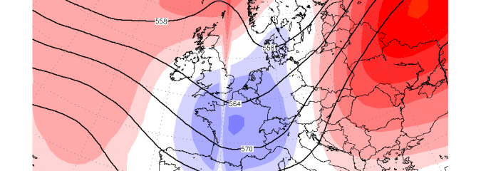 NORTHWEST EUROPE: High Pressure Builds To End Sept