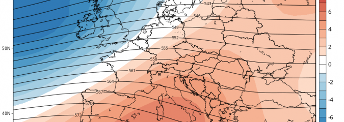 Western Europe Turns Milder, Wetter As AO/NAO Goes Positive