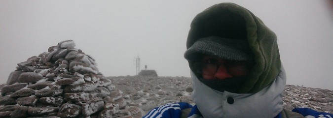 Climb To Cairn Gorm Summit, The Windiest Place In The UK!