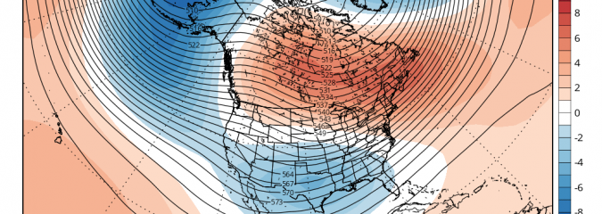 US LONG RANGE: Canadian Flips From Warm December To Cold January!