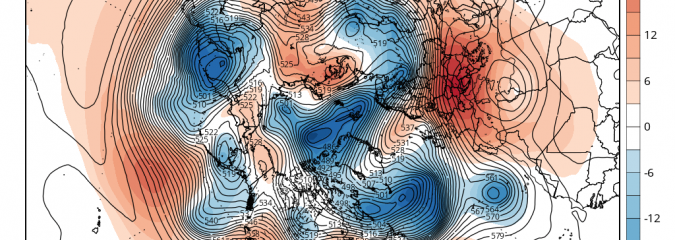 Significant High Latitude Blocking To Develop After New Year?