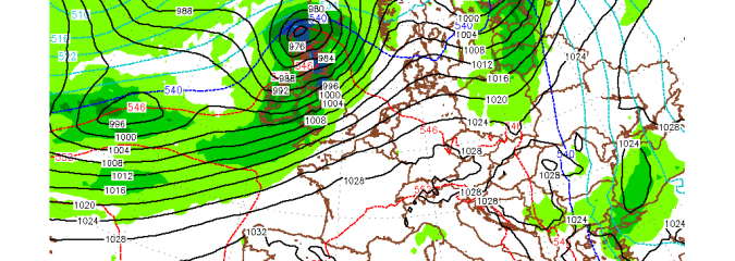 3 Deep Atlantic Lows To Cross UK Within Next 5 Days, Additional 6 Inches Of Rain Expected!