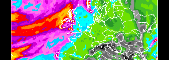Wet Pattern Over Saturated, Frozen Ground Means Further Flooding Fears For UK