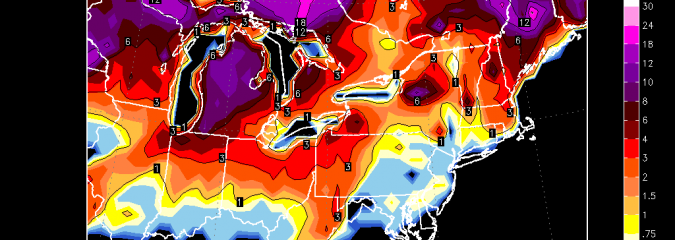 Models Now See Snow From DC To Boston With Clipper Next Week