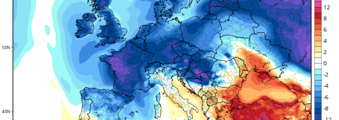 Major Cold Shivers Central, Eastern Europe, UK And West Up Next!