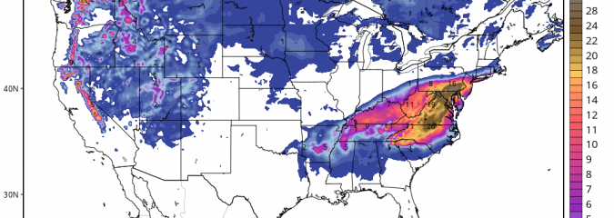 Blizzard Warning Up For Washington DC