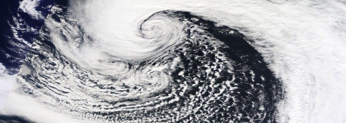 Monster Atlantic Low Connecting Greenland With Cuba Is Reshaping Europe's Pattern