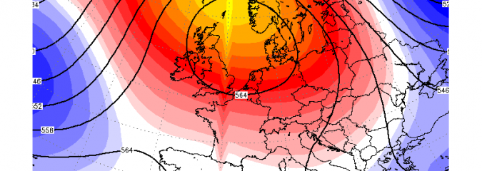 EUROPE: Drier, Blocky, Potentially Colder Pattern Becomes Established Next Week