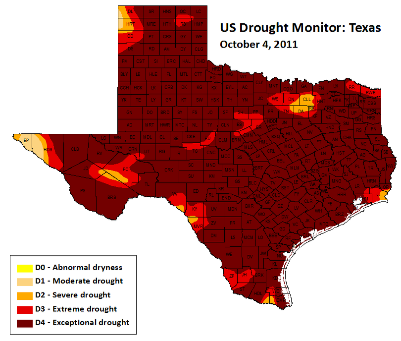 DroughtTX4Oct2011_US_Drought_Monitor