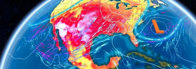 Plains Kick Off Heatwave With 105-110F But Death Valley May Challenge 1st 130F Since 1913