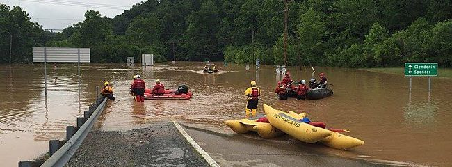 Heavy Rains Run Between Northeast/Southeast Drought Area, Flash Flood Concerns Return To West Virginia