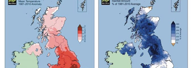 MET OFFICE: State of UK Climate 2015 & Exceptional December Rainfall & Warmth