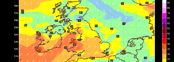 Storm Which Impacted US Last Weekend Impacts UK This Weekend, An October Low With July Temps