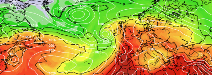 WEST EUROPE: Tropics Energise Trans-Atlantic Jet Stream Continuing The Fluid, Unsettled Pattern