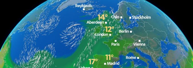 Atlantic Low/Europe High Imports Sub-Tropical Air In Over UK, Aviemore 21C Warmer Than 24 Hours Ago!
