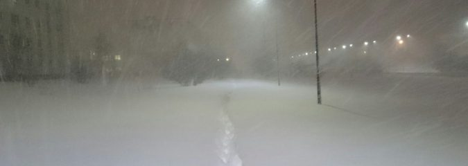 Atlantic Meets Arctic Resulting In Crippling Snowfall For Murmansk, More To Come Next Week