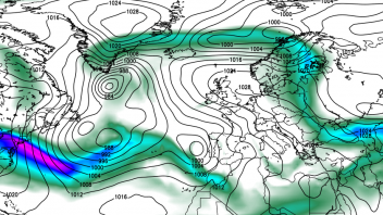 Mild, Moist Atlantic Winds Return To UK But Forces Further Cold Shots Into Eastern Europe