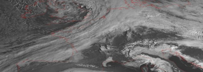 After Storm Doris Explodes Over UK With 94mph Gusts/Heavy Snow… Focus Turns To Low Countries