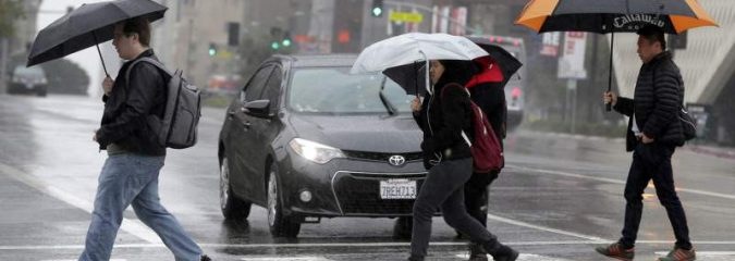 Los Angeles Faces Biggest Rainstorm In Years, More Plains Warmth, Maine/Maritimes Buried AGAIN!