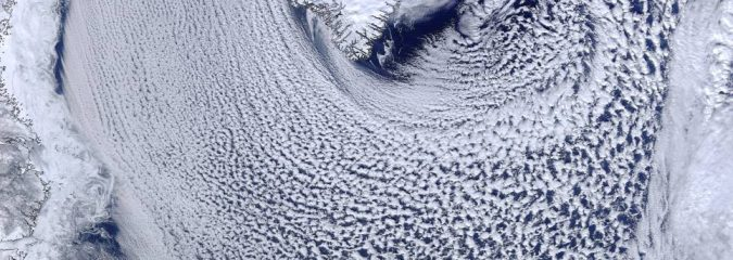 Some Fine Visible Satellite Images (Greenland, Iceland, Alps) From Recent Days