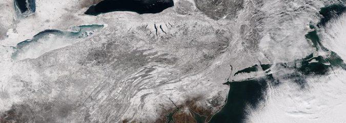 EASTERN US: 3 Snow Systems & A Major Arctic Air Mass