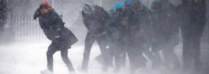Storm Buries Interior Northeast Beneath 33″ Inches Of Snow, Let's DC-BOS Corridor Off Lightly