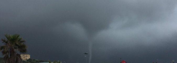 Stormy Western Mediterranean Triggers Menorca Tornado