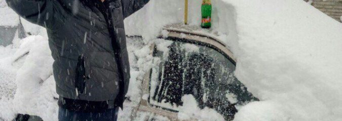 Heavy Snow Buries Parts Of Eastern Europe, Damaging Gales Hit S Spain, UK Snow Next?