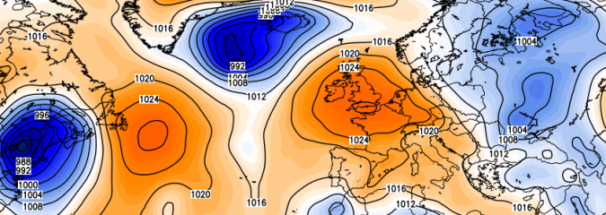 Repetative Pattern Presents Another Brief Warm Surge For SE Britain This Weekend