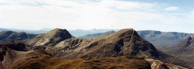 Climb of Maol Chean Dearg (2nd in Torridon, 21st munro)