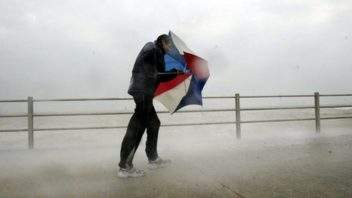 Week started with record heat, ends with gales across Scotland, 91 mph gust over Cairngorm