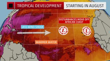 Ocean-Atmosphere continues to become more favourable as we head into heart of Hurricane Season