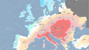 Searing Italy, Soggy UK… Atlantic jet stream gives and is ready to take away!