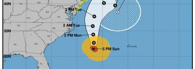 Hurricane Jose to weaken offshore but still bring wind, rain, surf to US East Coast
