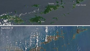 TWC: Before and After Images of Hurricane Irma's Destruction in Barbuda and the Virgin Islands